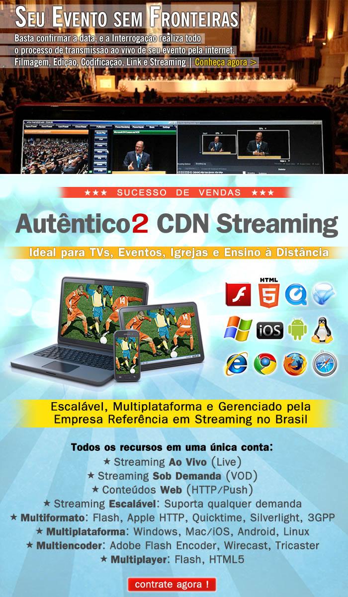 Acesse neste gr�fico os destaques no site da Interroga��o Digital - O Streaming para o Brasil!
